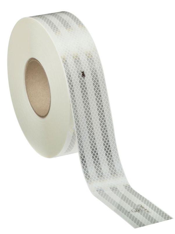 Пленка световозвращающая 3M 53.5mm x 1m White 983-10