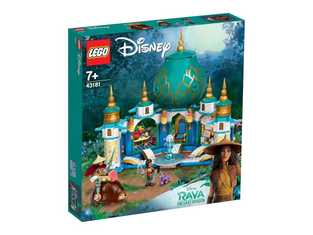 Конструктор Lego Disney Princess Райя и Дворец сердца 610 дет. 43181