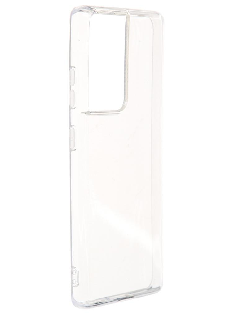 Чехол Deppa для Samsung Galaxy S21 Ultra Gel Transparent 870001