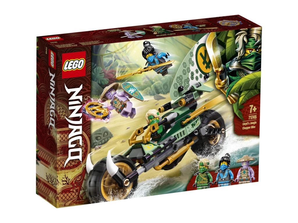 Конструктор Lego Ninjago Мотоцикл Ллойда для джунглей 71745