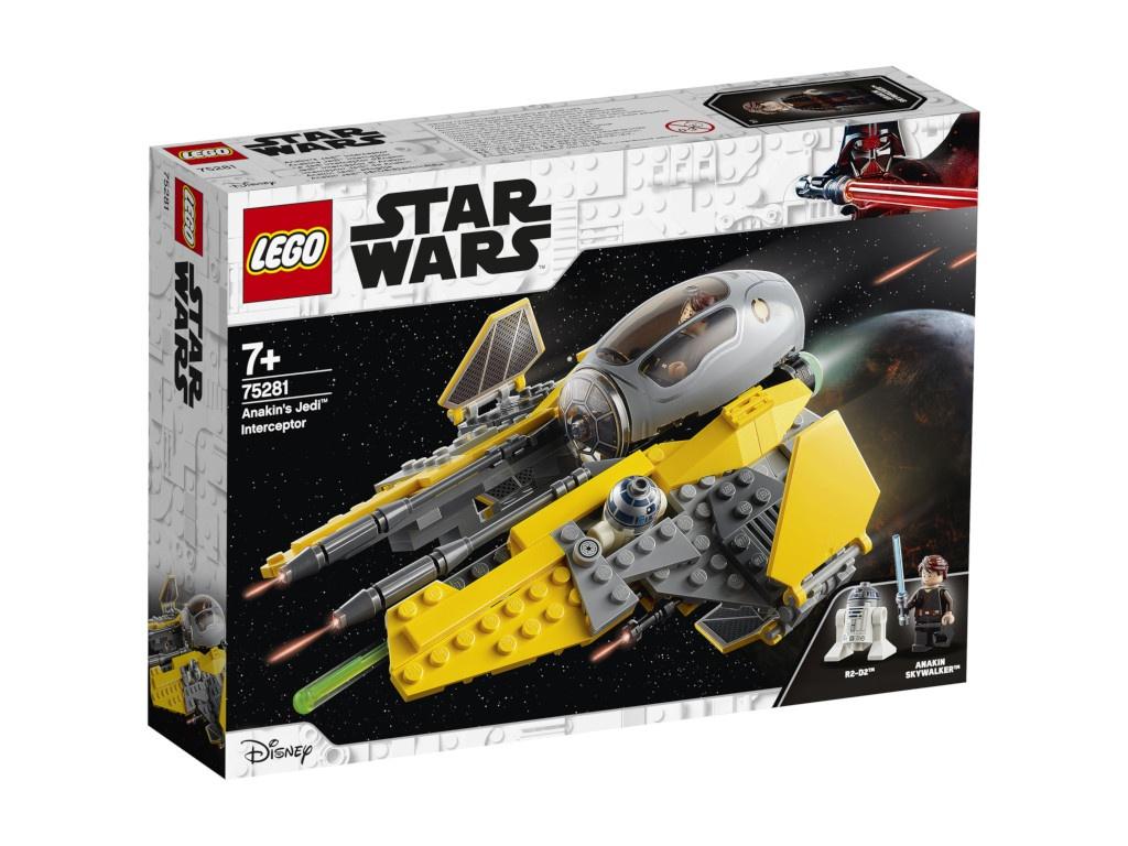 Конструктор Lego Star Wars Джедайский перехватчик Энакина 75281 alex segura star wars poe dameron freier fall