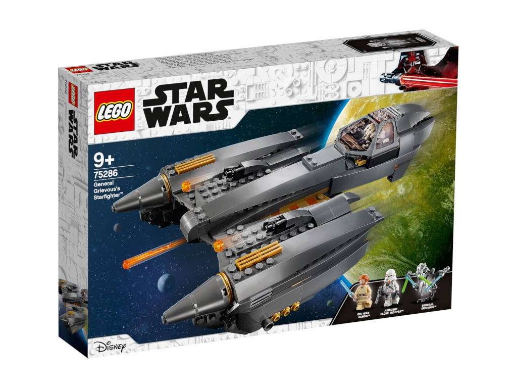 Конструктор Lego Star Wars Звёздный истребитель генерала Гривуса 75286 alex segura star wars poe dameron freier fall