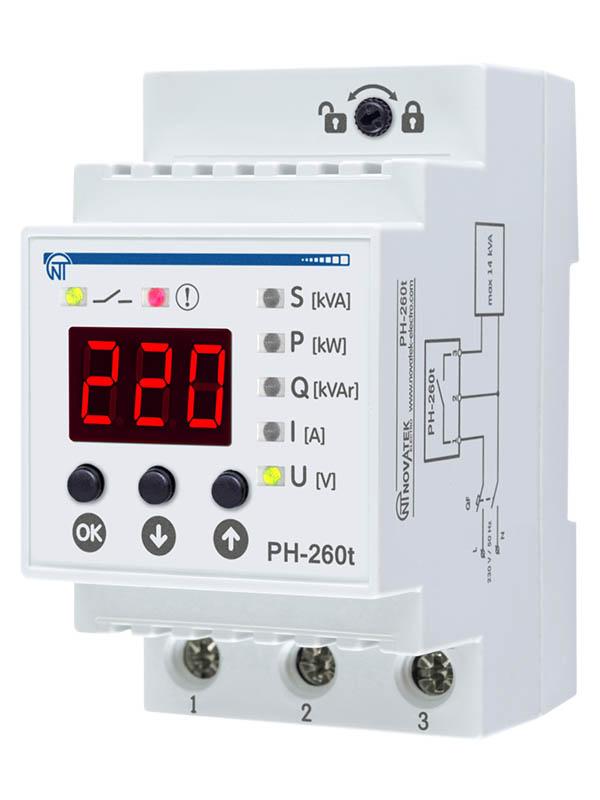 Реле контроля напряжения Новатек-Электро PH-260Т 3425600260т