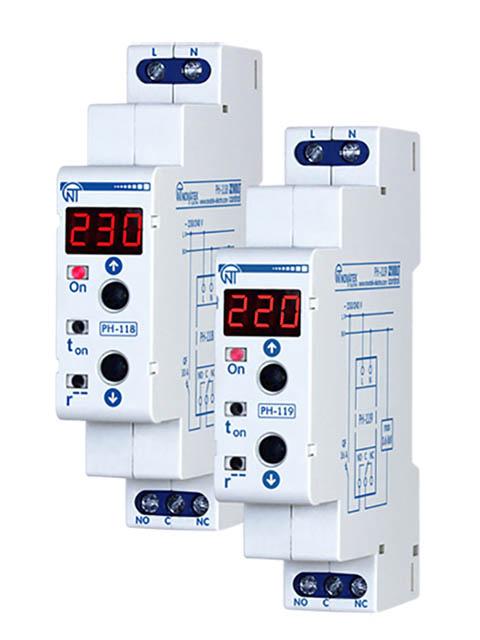 Реле контроля напряжения Новатек-Электро PH-118 3425600118