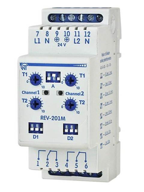 Реле контроля напряжения Новатек-Электро РЭВ-201М
