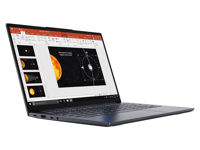Ноутбук Lenovo Yoga Slim7 14ITL05 Grey 82A3004YRU (Intel Core i7-1165G7 2.8 GHz/16384Mb/512Gb SSD/Intel Iris Xe Graphics/Wi-Fi/Bluetooth/Cam/14/1920x1080/Windows 10)