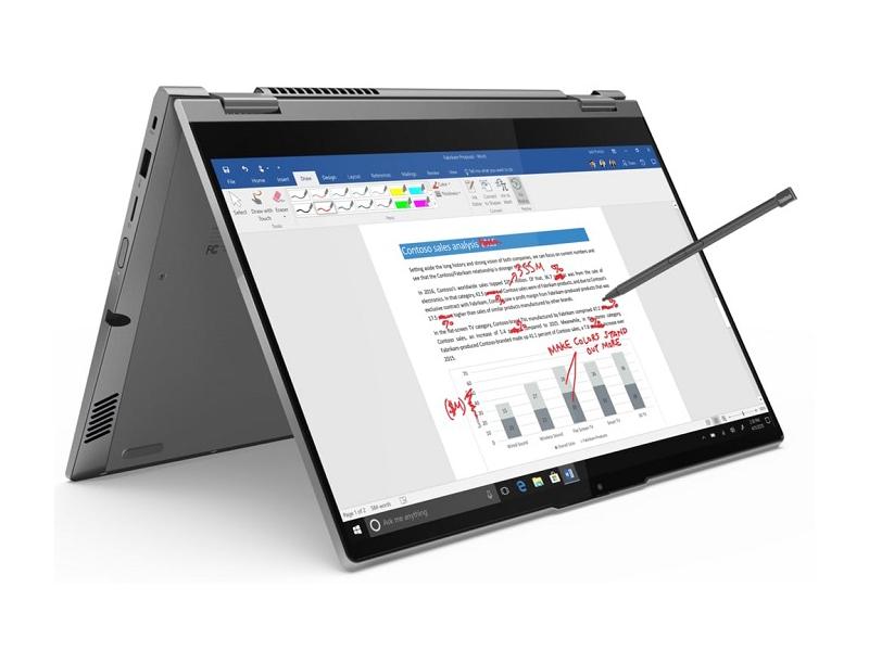 Ноутбук Lenovo Thinkbook 14s Yoga ITL 20WE0002RU (Intel Core i5-1135G7 2.4GHz/8192Mb/256Gb SSD/Intel Iris Xe Graphics/Wi-Fi/14/1920x1080/Windows 10 64-bit)