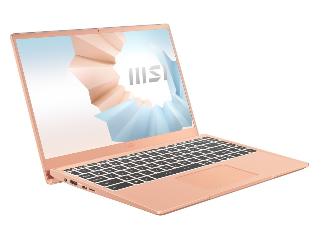 Ноутбук MSI Modern 14 B11MO-265RU 9S7-14D315-265 (Intel Core i5-1135G7 2.4 GHz/8192Mb/512Gb SSD/Intel Iris Xe Graphics/Wi-Fi/Bluetooth/Cam/14.0/1920x1080/Windows 10 Home 64-bit)