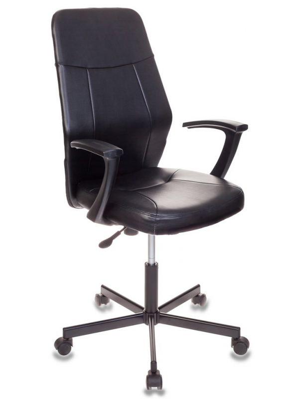Компьютерное кресло Бюрократ CH-605 Black + подарочный сертификат 200 руб