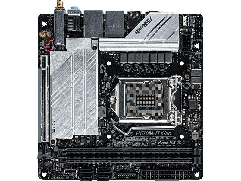 Материнская плата ASRock H570M-ITX/AC