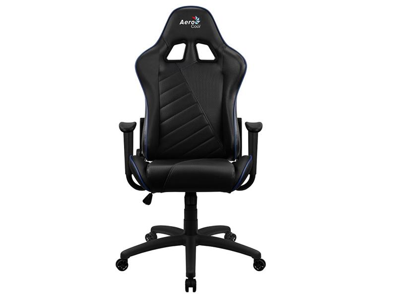Фото - Компьютерное кресло AeroCool AC110 AIR Black-Blue Выгодный набор + серт. 200Р!!! компьютерное кресло chairman game 17 black grey 00 07024558 выгодный набор серт 200р