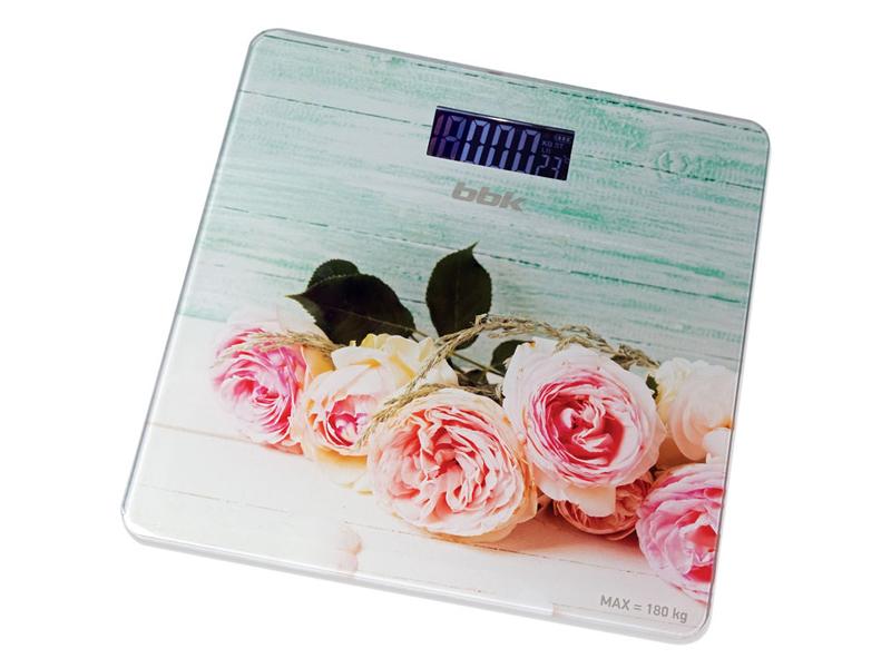 Весы напольные BBK BCS3003G Pink