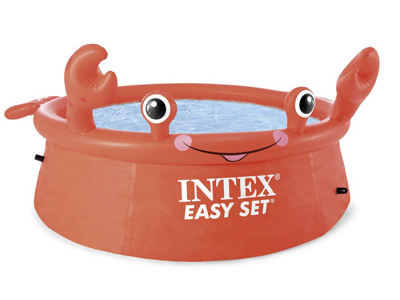 Детский бассейн Intex Happy Crab 26100, 183х51 см