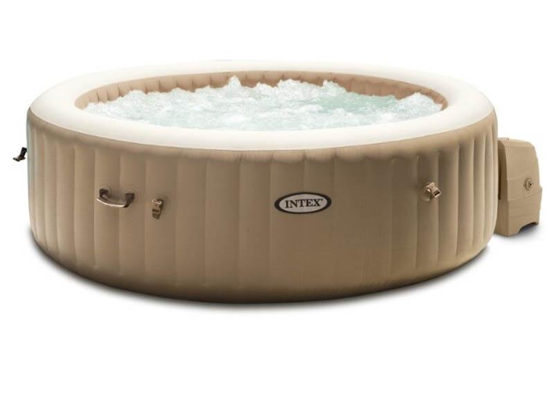 Детский бассейн Intex Bubble Massage 165х216х71cm 28428