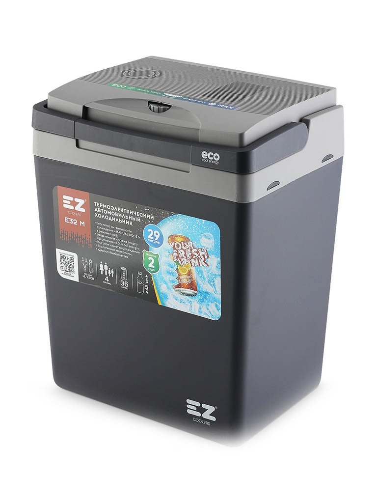 Холодильник автомобильный EZ Coolers E32M 12/230V Grey 60028