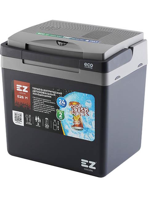 Холодильник автомобильный EZ Coolers E26M 12/230V Grey 60042