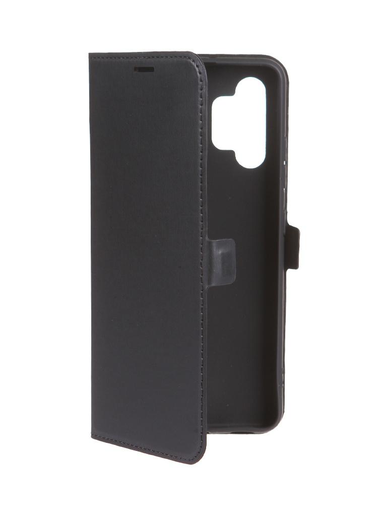 Чехол Krutoff для Samsung Galaxy A32 A325 Eco Book Black 12719