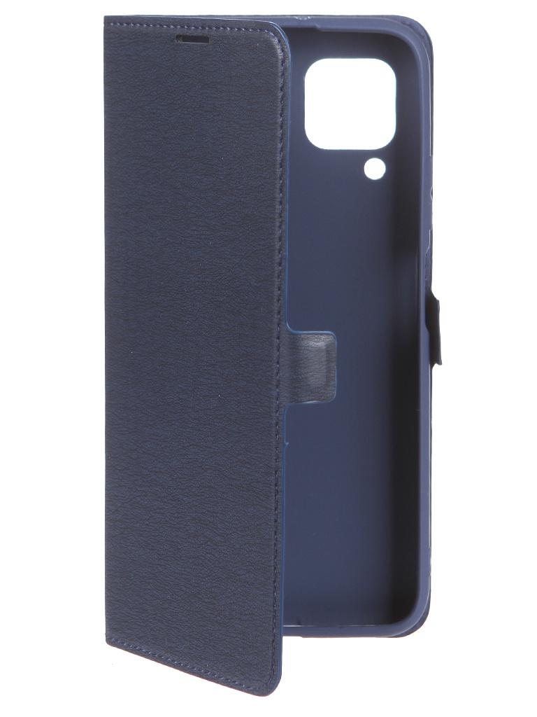 Фото - Чехол Krutoff для Huawei P40 Lite Eco Book Blue 10431 смартфон huawei p40 lite e 4 64gb aurora blue ярко голубой