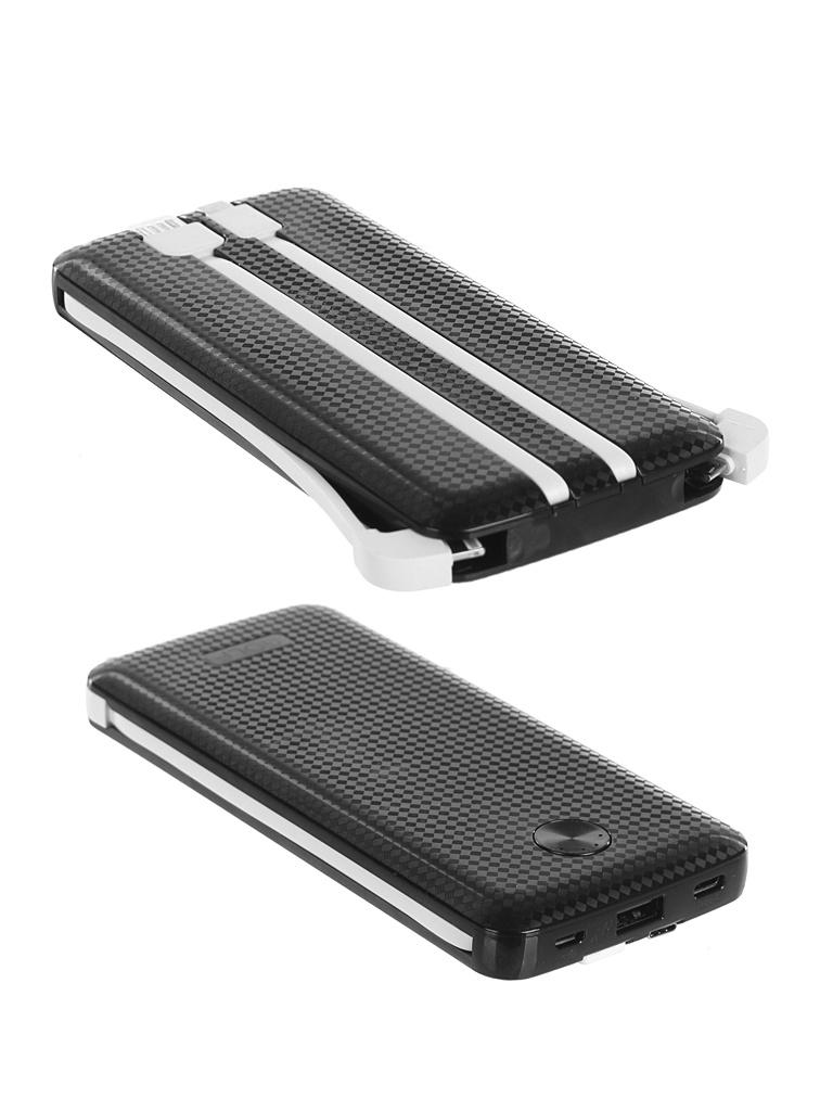 Внешний аккумулятор Golf Edgee Power Bank L105 10000mAh Black