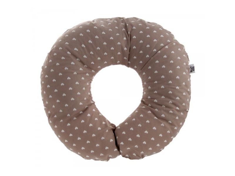 Подушка для беременных Roxy-Kids Сердце Grey RPP-004_WB_hb