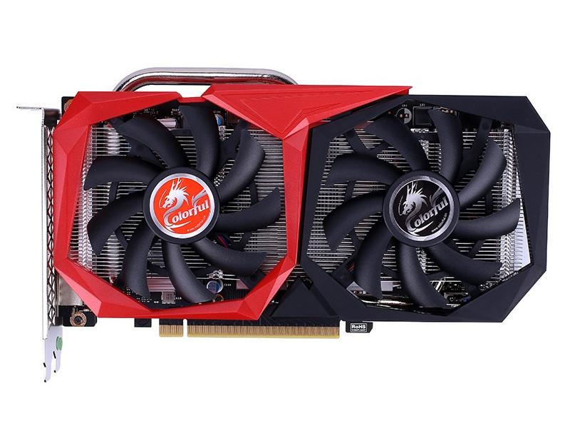 Видеокарта Colorful GeForce GTX 1660 Super NB 6G-V 1530MHz PCI-E 3.0 6144Mb 14000MHz 192 bit HDMI DVI DP