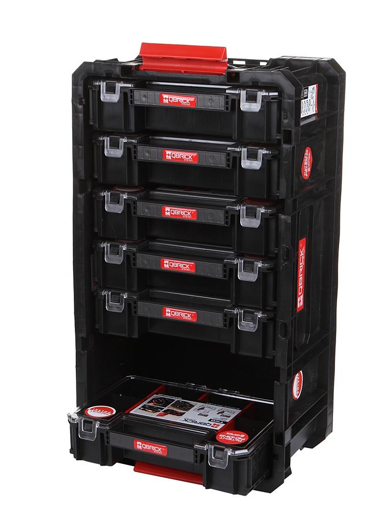 Ящик для инструментов Qbrick System Two Box 200 + Organaizer Multi (6шт) 526x307x195mm 10501288