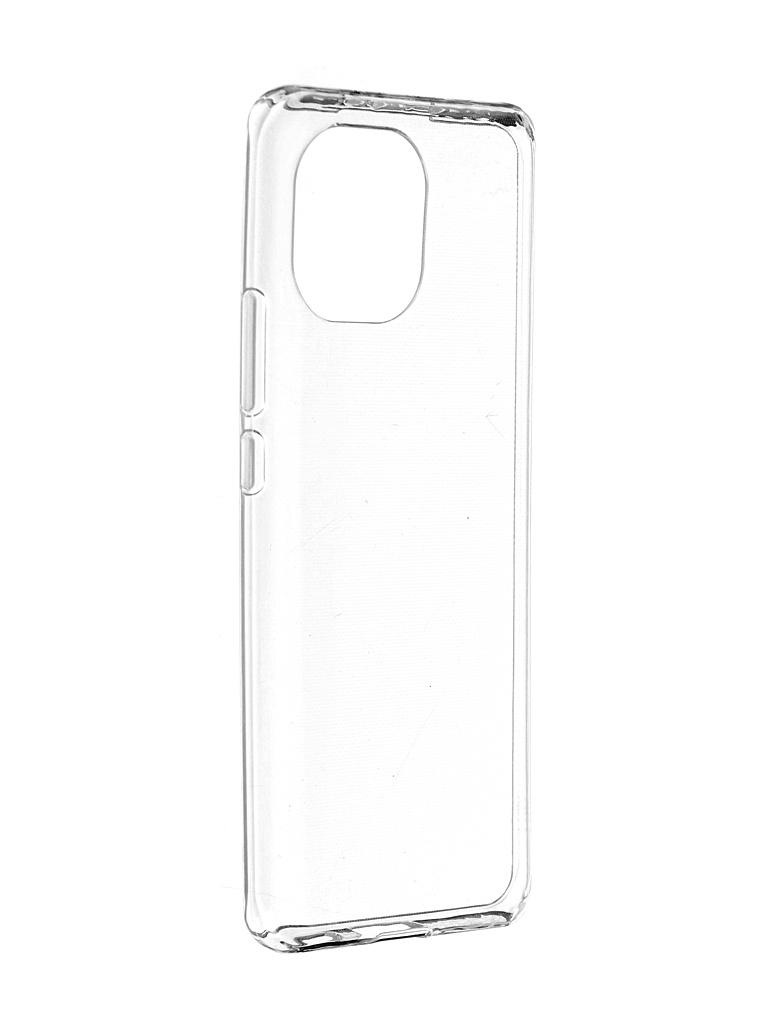 Чехол iBox для Xiaomi Mi 11 Crystal Silicone Transparent УТ000024073