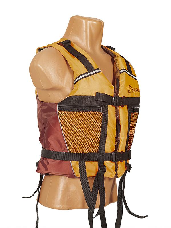 Спасательный жилет Ковчег Тритон р.56-58 (3XL-4XL) Orange-Bordo-Camouflage