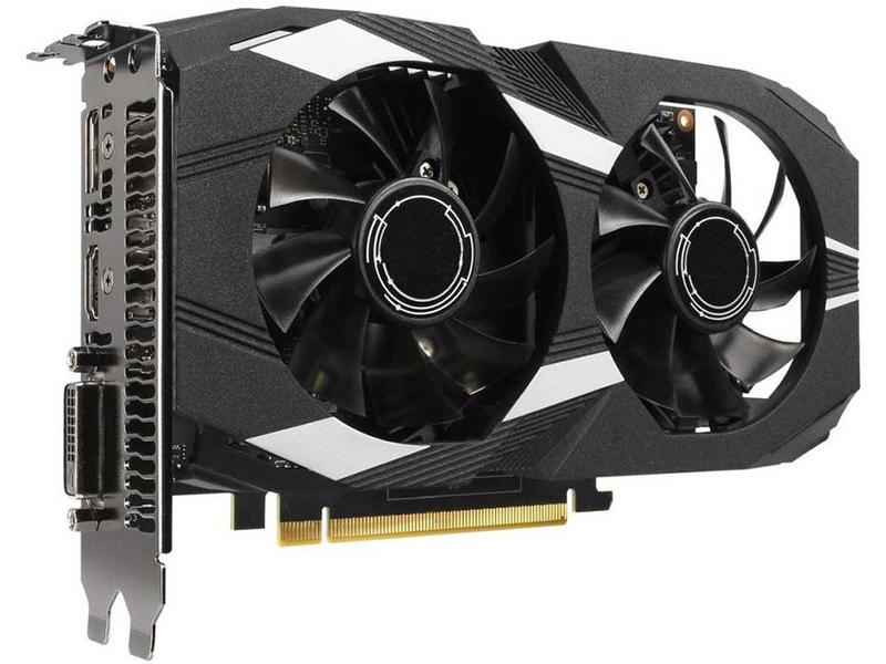 Видеокарта ASUS GeForce GTX 1650 1485Mhz PCI-E 3.0 4096Mb 8002Mhz 128 bit DP HDMI DUAL-GTX1650-O4G Выгодный набор + серт. 200Р!!!
