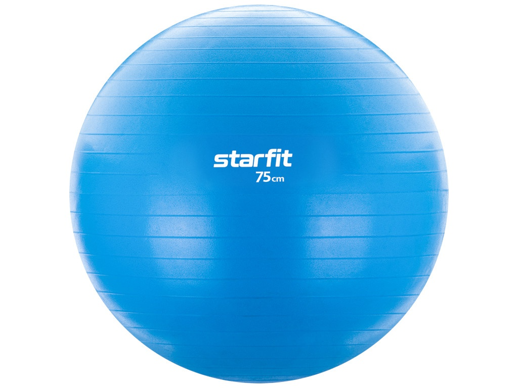 Фитбол Starfit GB-104 75cm Light Blue УТ-00016540