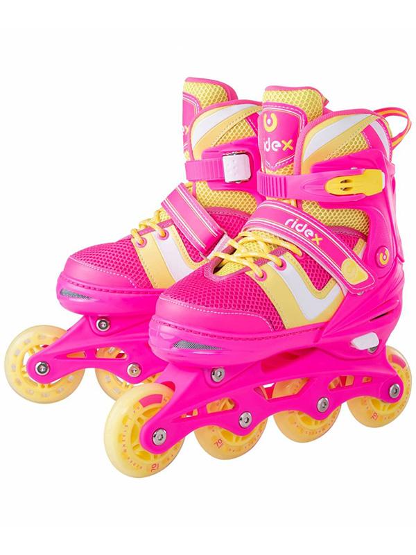 Коньки Ridex Wing р.M 34-37 Pink УТ-00018622