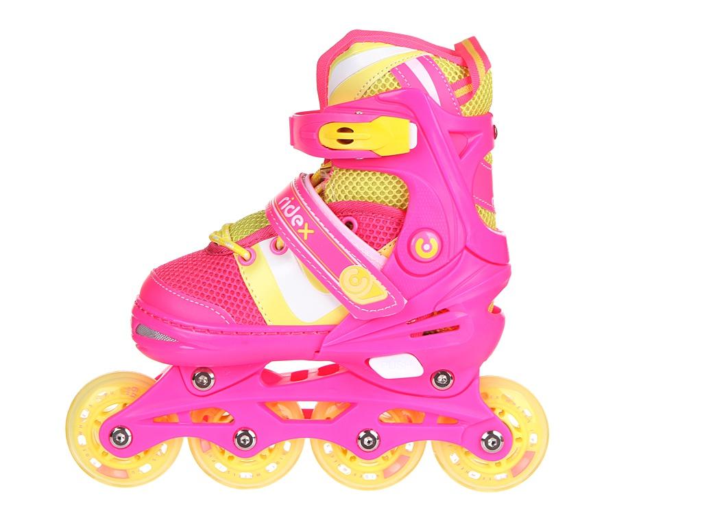 Коньки Ridex Wing р.S 30-33 Pink УТ-00018622
