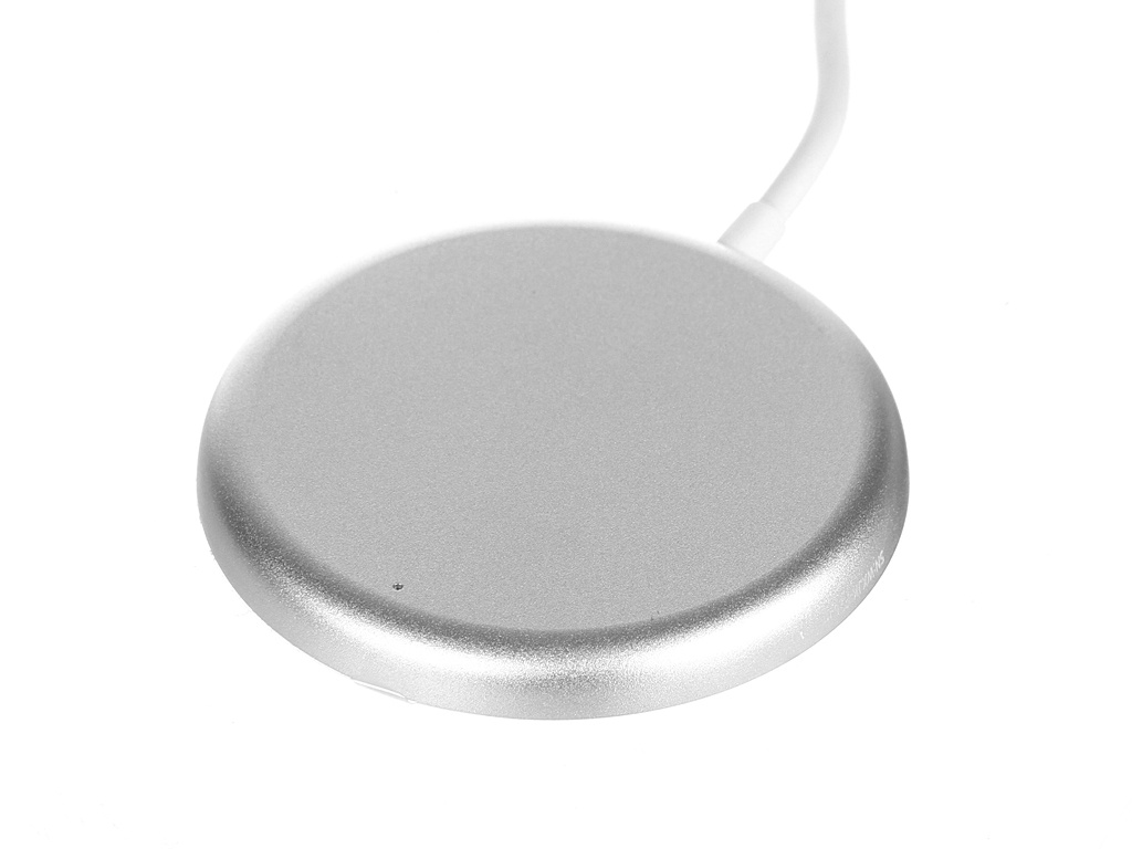Зарядное устройство Baseus Simple Mini Magnetic Wireless Charger для APPLE iPhone 12 White WXJK-F02