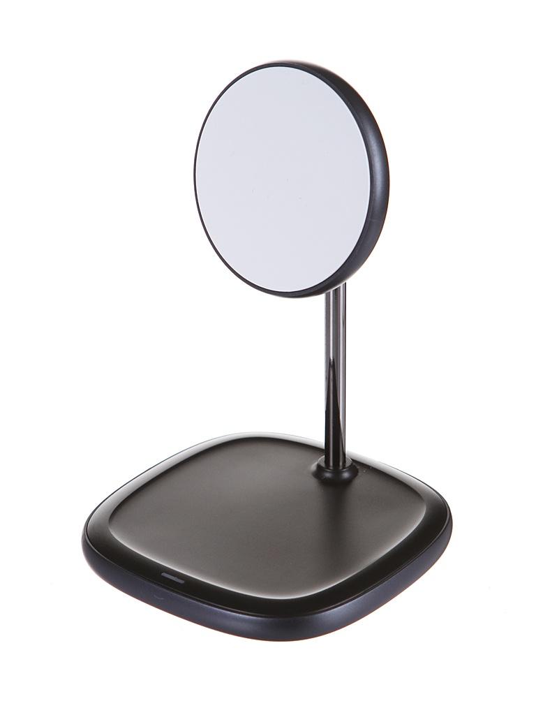 Зарядное устройство Baseus Swan Magnetic Desktop Bracket Wireless Charger для APPLE iPhone 12 Black WXSW-01
