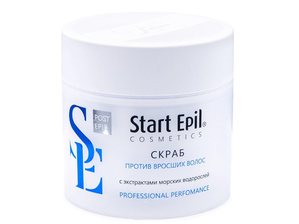 Скраб против вросших волос с экстрактом морских водорослей Start Epil 300ml 2049