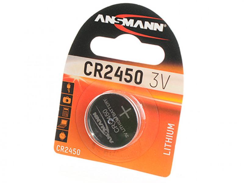 Батарейка CR2450 - Ansmann 5020112-RU