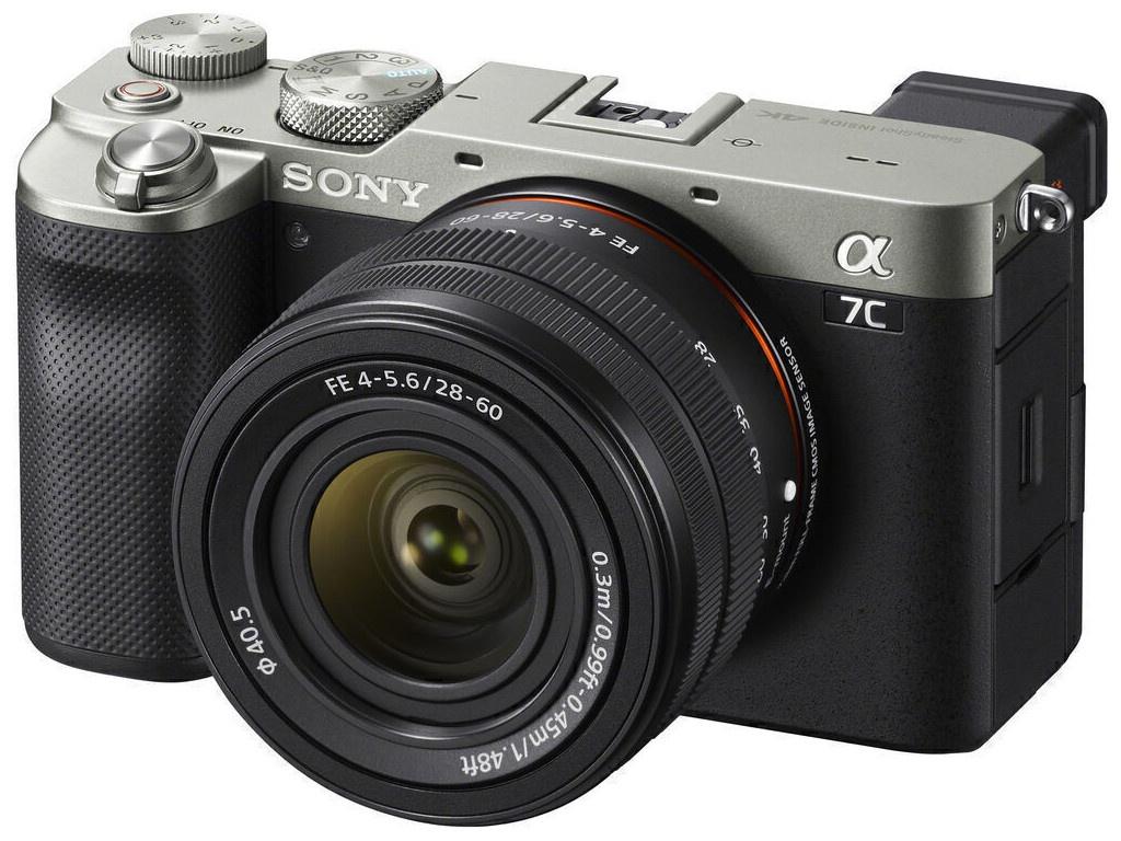 Фото - Фотоаппарат Sony Alpha A7C Kit 28-60mm Silver ILCE-7CL цифровой фотоаппарат sony alpha ilce 7m2 body черный