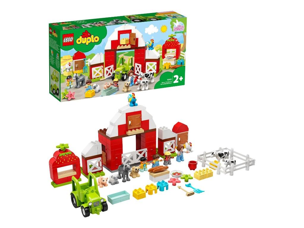 Конструктор Lego Duplo Фермерский Трактор,домик и животные 97 дет. 10952