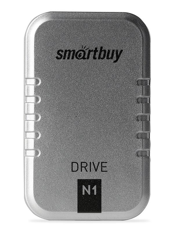 Фото - Твердотельный накопитель 128Gb - SmartBuy N1 Drive USB 3.1 Silver SB128GB-N1S-U31C твердотельный накопитель smartbuy external s3 drive 512gb black silver sb512gb s3bs 18su30