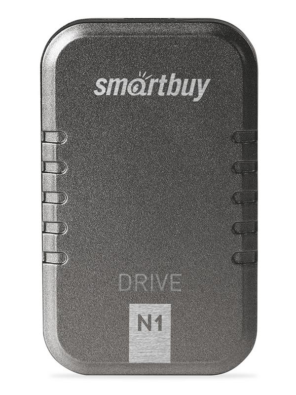Фото - Твердотельный накопитель 128Gb - SmartBuy N1 Drive USB 3.1 Gray SB128GB-N1G-U31C твердотельный накопитель smartbuy external s3 drive 512gb black silver sb512gb s3bs 18su30