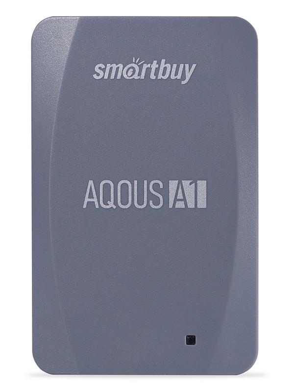 Фото - Твердотельный накопитель 128Gb - SmartBuy A1 Drive USB 3.1 Gray SB128GB-A1G-U31C твердотельный накопитель smartbuy external s3 drive 512gb black silver sb512gb s3bs 18su30