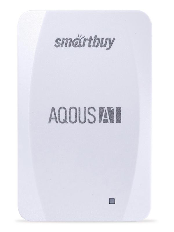 Фото - Твердотельный накопитель 256Gb - SmartBuy A1 Drive USB 3.1 White SB256GB-A1W-U31C твердотельный накопитель smartbuy external s3 drive 512gb black silver sb512gb s3bs 18su30