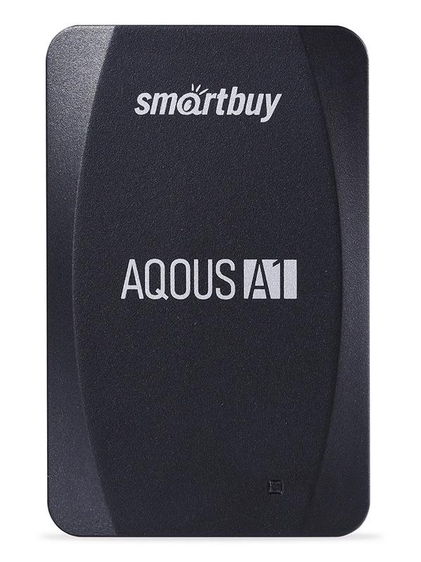Фото - Твердотельный накопитель 512Gb - SmartBuy A1 Drive USB 3.1 Black SB512GB-A1B-U31C твердотельный накопитель smartbuy external s3 drive 512gb black silver sb512gb s3bs 18su30