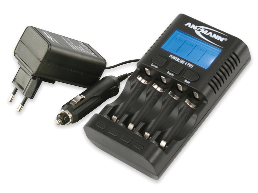 Фото - Аккумулятор Ansmann Powerline 4 Pro 1001-0005 футляр ansmann akku box 4000033
