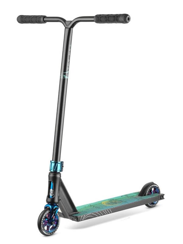 Самокат Fox Pro V-tech 01 2021 Black-Neo Blue