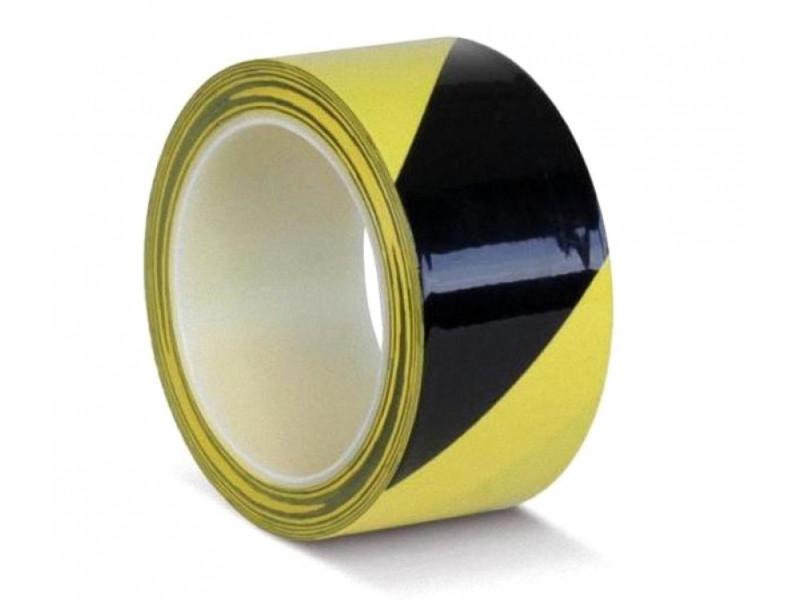 Лента сигнальная 3M 4705 50mm x 33m Black-Yellow 7100181225