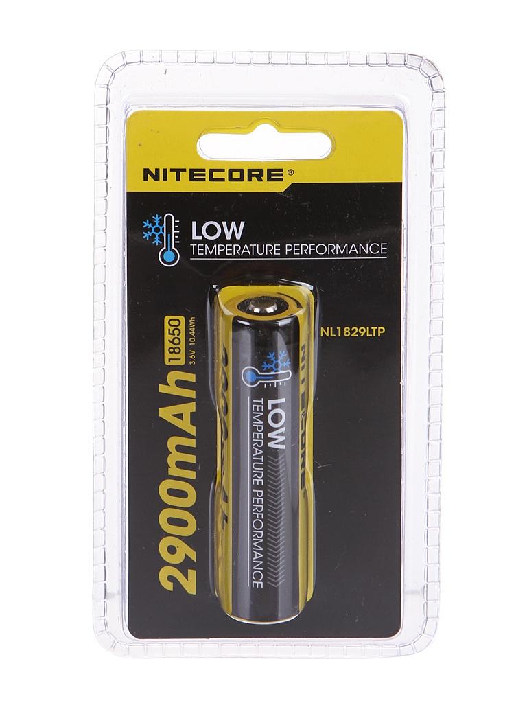 Аккумулятор Nitecore Rechargeable 18650 Li-Ion 2900mAh NL1829LTP / 17039