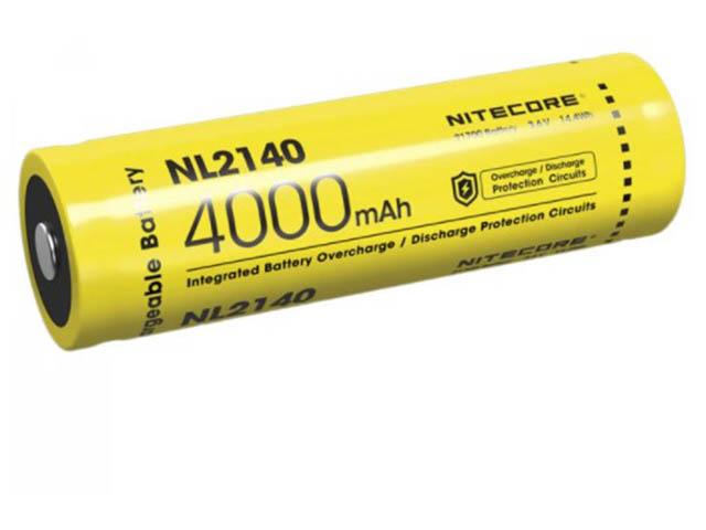 Аккумулятор Nitecore 21700 Li-Ion 4000mAh NL2140R / 19694