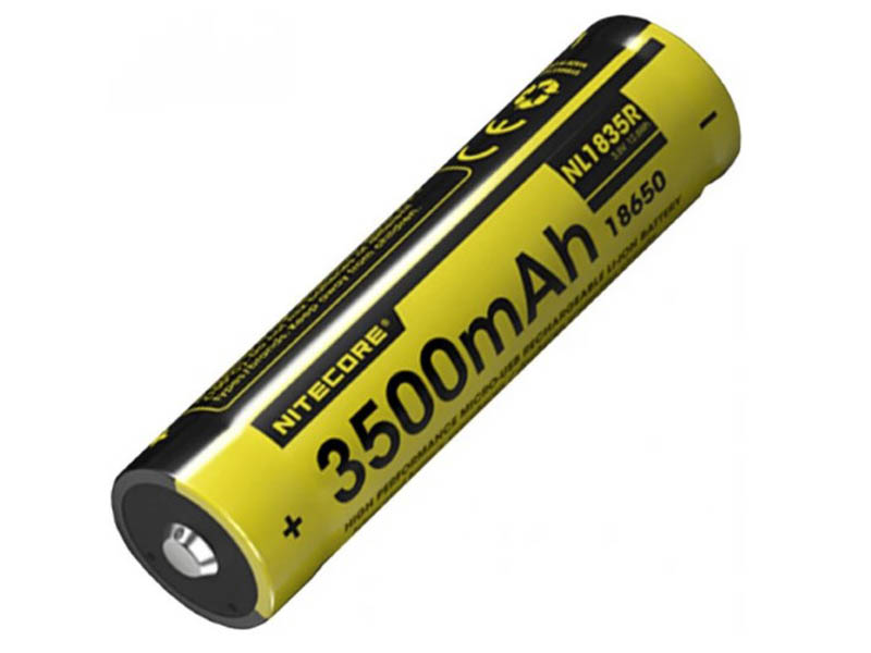 Аккумулятор Nitecore 18650 Li-Ion 3500mAh NL1835R / 16976