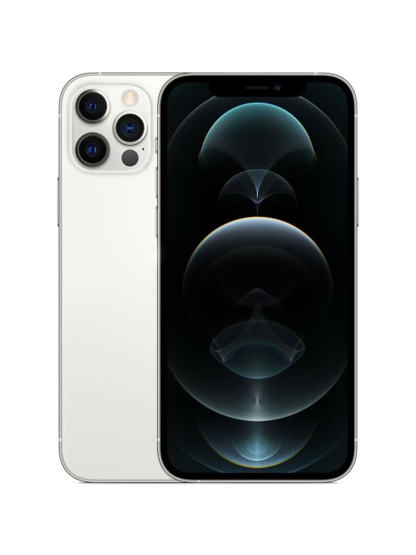 Фото - Сотовый телефон APPLE iPhone 12 Pro 256Gb Silver MGMQ3RU/A Выгодный набор + серт. 200Р!!! сотовый телефон apple iphone 12 pro 256gb graphite mgmp3ru a